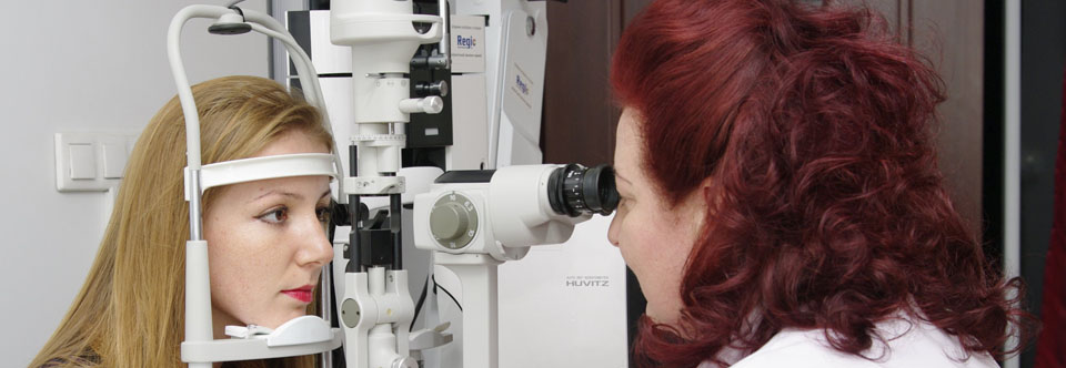 Cabinet oftalmologic » consultații computerizate